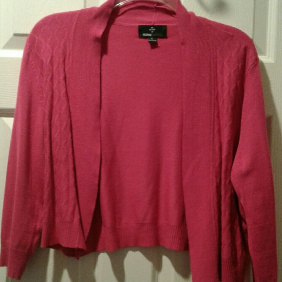 68% off Ronni Nicole Sweaters - Shocking Pink Sweater LRG from ...